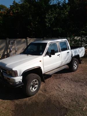 1997 Toyota Hilux 2.8GD 6 double cab 4x4 Raider