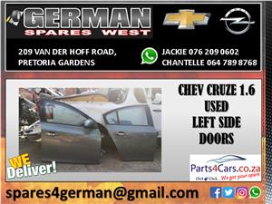 CHEV CRUZE 1.6 USED RIGHT SIDE DOORS FOR SALE