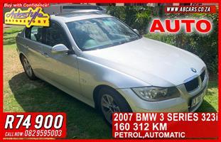 2007 BMW 3 Series 323i Dynamic steptronic