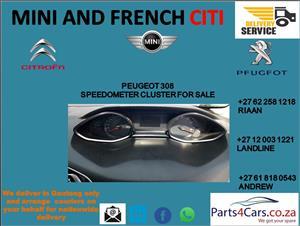 peugeot 308 speedometer for sale