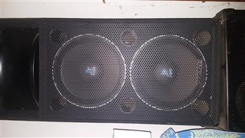 Fane dual F215 dual disco speakers