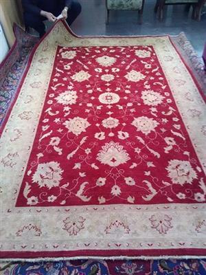 hand woven Persian carpet