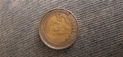 2008 R5 Mandela coin