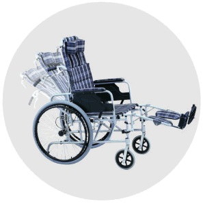ADULT RECLINING MANUAL WHEELCHAIR