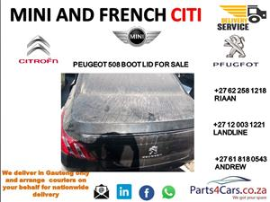 peugeot 508 boot lid for sale