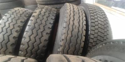315 AND 12R SECOND HAND TRUCK TYRES,GUARANTEED,GOOD DISCOUNTS OFFERED