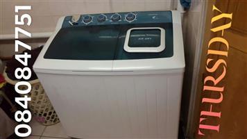 14kg Kelvinator Twintub air dry wasmasjien