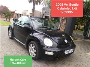 2005 VW Beetle cabriolet 2.0