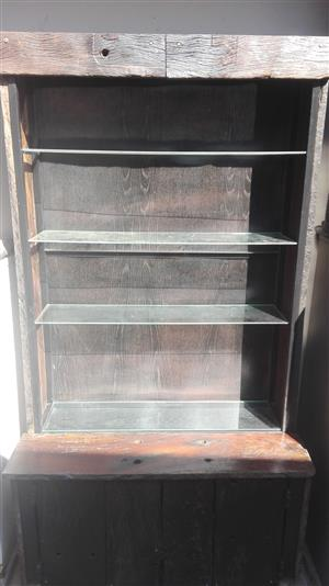 Supawood Drinks and Display Cabinet with Tables