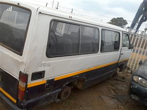 stripping toyota hiace for spars