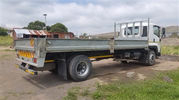 Dropsides, 7m Galvanised bin/trailer