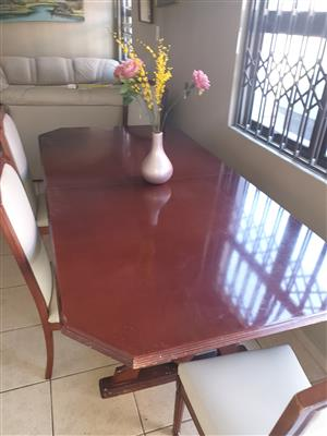 Sold Wood 8 Seater Dinning Room Set