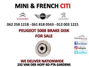 Peugeot 5008 Brake disk for sale 012 003 1221
