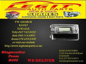 VW AMAROK RADIO FOR SALE