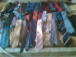 Assorted mens ties