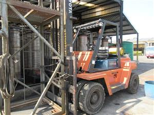Toyota FD70, 7 Ton Forklift - ON AUCTION