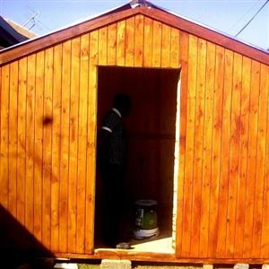 cabins log & wendy house gurden project