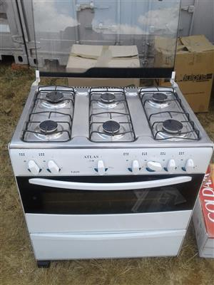 6 plate gas stove oven