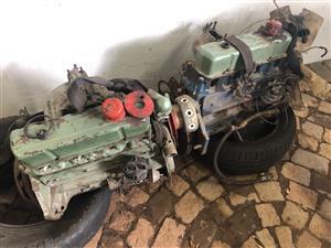 2 x Chevrolet 2.5, 4 cylinder engines