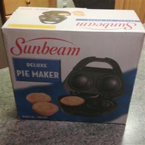 Sunbeam deluxe pie maker