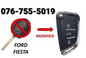 Ford Fiesta Key Spare 2012
