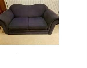 Black 2 seater couch -Grafton Everest -Clean /awesome