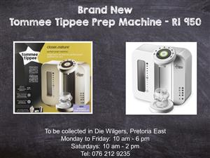 Brand New Tommee Tippee Prep Machine