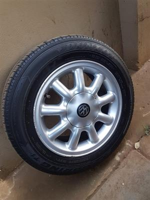 "14"" inch VW mags 100PCD 4 Hole 175/65/14"