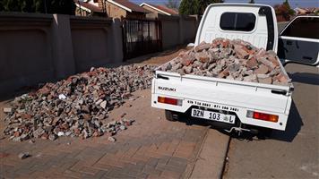 Rubble & Garden Waste Removal in Polokwane. 0762368865