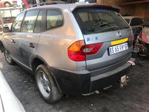 STRIPPING NOW!! BMW X3 2.0d . E83. Preface. X drive. 2007. Manual. M47d20engine