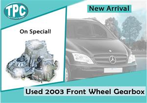 Mercedes Benz Vito Used 2003 Front Wheel Gearbox for sale at TPC