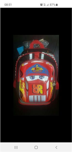 kiddies 3D character trolley bags