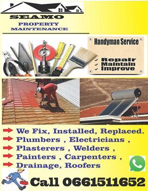 Renovation Tiling Geyser repair handy man services call 0661511652 rustenburg town