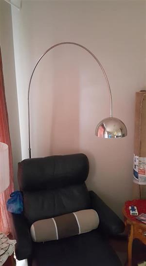 Silver buig lamp te koop