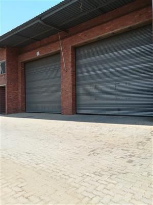 524m2 warehouse to let in Hughes, Boksburg