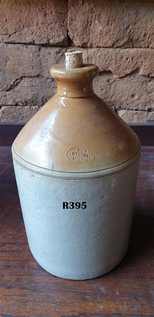 Large Vereeniging Stoneware Jar (Collectors Item)