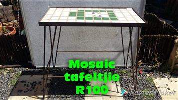 Mosaic tafeltjie te koop
