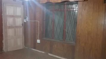 20sqm wooden walled room