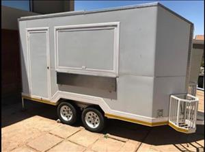 2015 DOUBLE AXLE FOOD TROLLEY