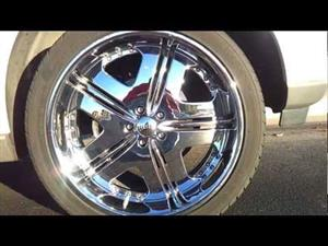 22 inch chrome deep dish dub wheels