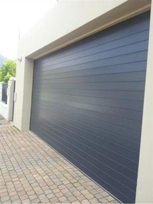 Aluminum sectional Double Garage Doors For Sale