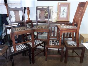 Riempie diningroom chairs