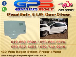 Used VW Polo 6 L/R Door Glass for Sale