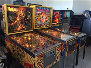 Classic Jukeboxes & Pinball Machines