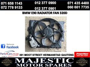 Bmw e90 radiator fan for sale