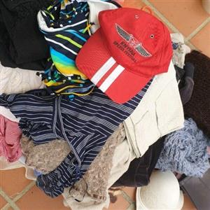 WHOLESALE LADIES AND KIDS CLOTHES -BALE !