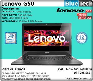 Lenovo G50-80 Laptop - Core i3 - 12 months Guarantee