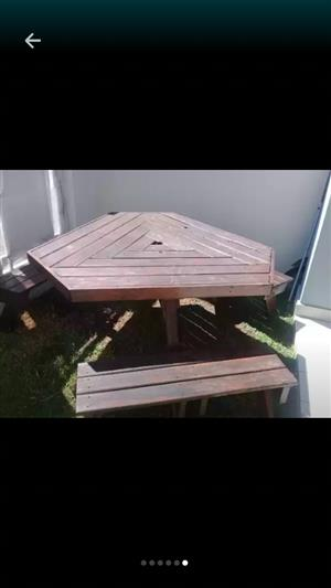 For Sale - Garden bench - 6 seater - R950.00 negotiable