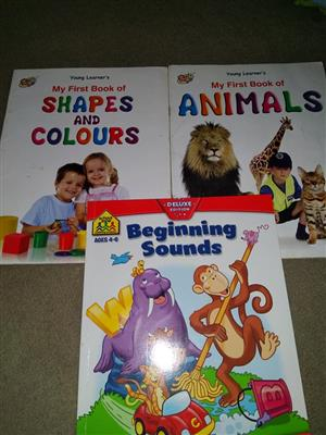 Shapes,sounds and animal books