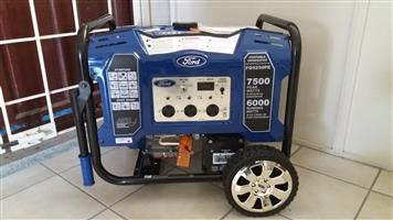 6500 Watt / 7500 Watt Ford Petrol Generators - BRAND NEW!!!!